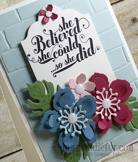 Colour Your World International Blog Hop, Botnaical Blooms Stamp set & Framelits #stampinup www.stampstodiefor.com 2