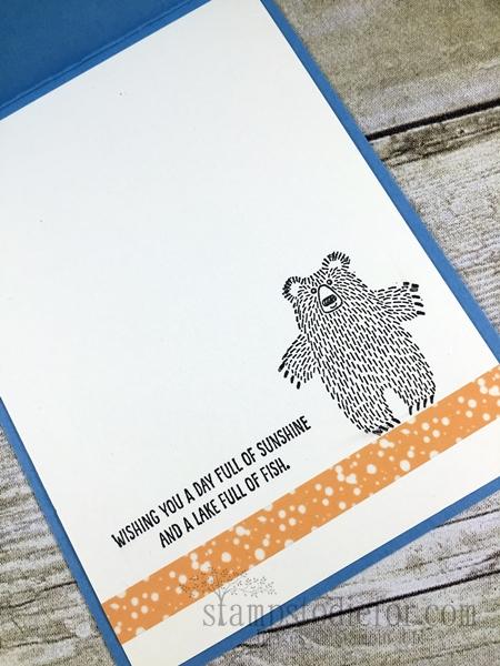 Bear Hugs Stamp Set & Framelits #stampinup www.stampstodiefor.com inside