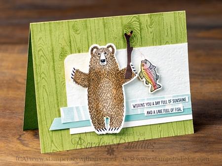 Bear Hugs Stamp Set and Coordinating Framelits #stampinup
