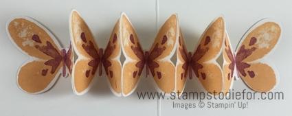 Color Your World International Blog Hop Stampin Up Watercolor Wings Stamp Set Pop Up Inside butterflies  www.stampstodiefor.com
