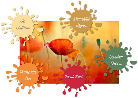Stampin Up Color Palette for November Color Your World Blog Hop