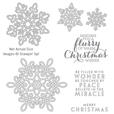 Flurry of Wishes Stamp Set by Stampin' Up!