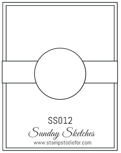 Sunday Sketches SS012 by Stamps to Die For