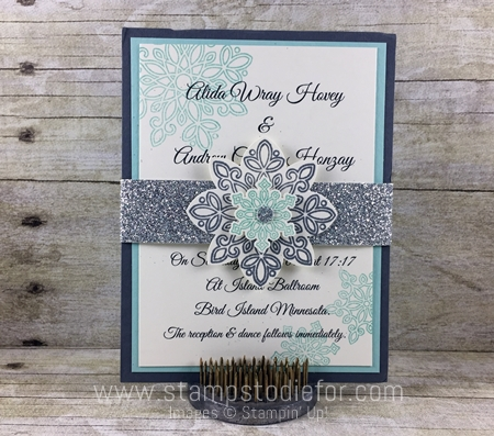Flurry Wishes Stamp Set & Snow Flurry Punch by Stampin' Up!