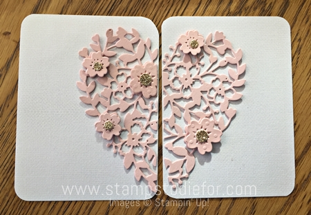 Bloomin' Heart Thinlits Die by Stampin Up 3