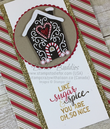 Candy Cane Lane Paper and Suite Sayings stamp set by Stampin Up www.stampstodiefor.com