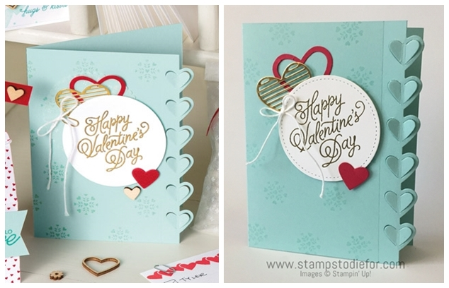 Sealed with Love Stamp Set & Love Notes Framelits Dies by Stampin' Up! www.stampstodiefor.com horz