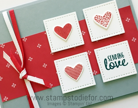 Sunday Sketches SS019 Sealed with Love Stamp Set & Love Notes Framelits Dies by Stampin' Up! www.stampstodiefor.com 3