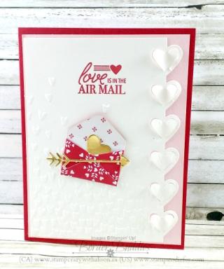 Love Notes Framelits Gold Foil www.stampcrazywithalison.ca
