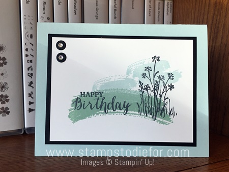 In the Meadow stamp set by Stampin' Up!  www.stampstodiefor.com