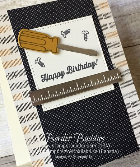 Nailed It stamp set by Stampin' Up! - Border Buddies Earn Free Cards and PDF Customer Rewards 222