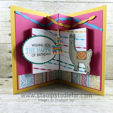 1 Birthday Fiesta Stamp Set by Stampin Up