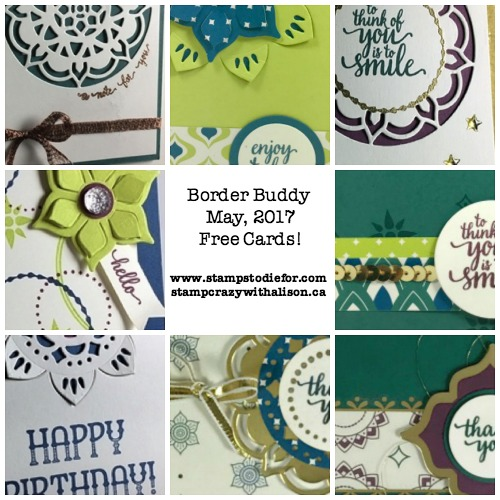 Border Buddies May PDF Tutorial