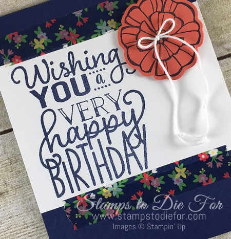 Big on Birthdays stamp set by Stampin' Up! Just in CASE www.stampstodiefor.com 33