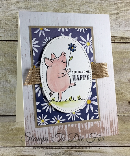 Sunday Sketches SS038 This Litttle Piggy stamp set by Stampin' Up! www.stampstodiefor.com