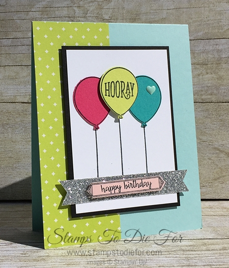Happy Birthday Gorgeous stamp set by Stampin' Up! www.stampstodiefor.com 3