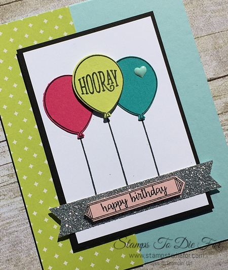 Happy Birthday Gorgeous stamp set by Stampin' Up! www.stampstodiefor.com