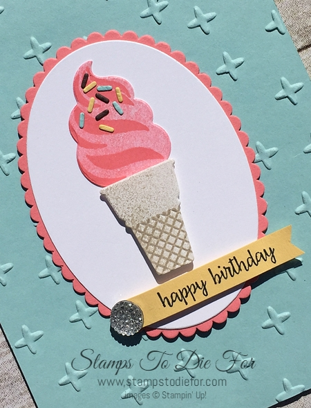 Cool Treats by Stampin' Up! www.stampstodiefor.com 2