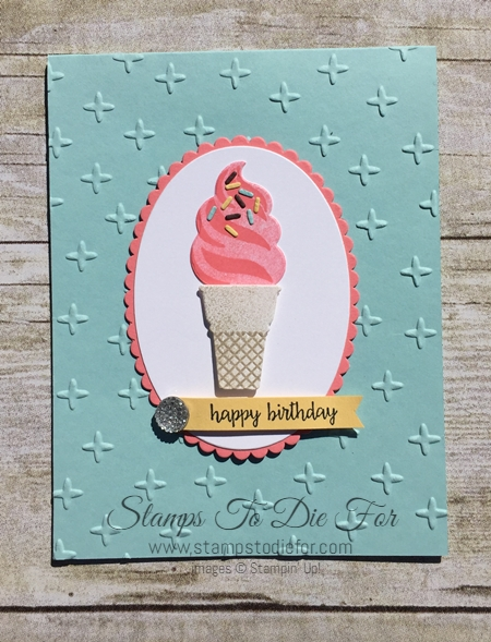Cool Treats by Stampin' Up! www.stampstodiefor.com 3