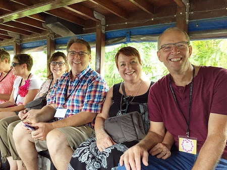 Ride to general session Thailand 2017 Stampin' Up! Incentive Trip