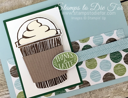 Coffee Cafe stamp set by Stampin' Up! www.stampstodiefor.com