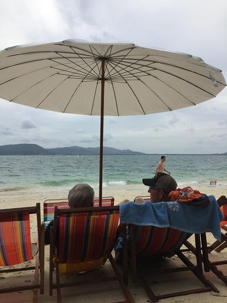 Enjoying the Beach in Thailand