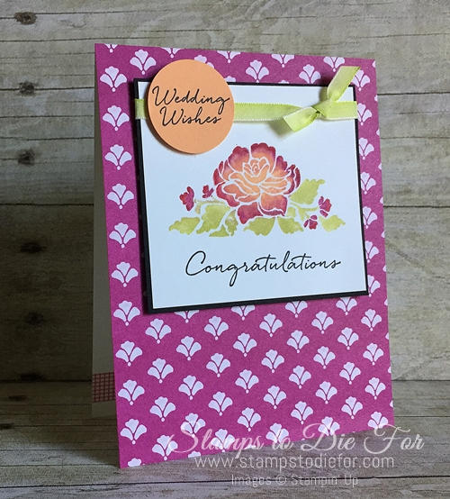 Colour Your World International Blog Hop - Floral Phrases by Stampin' Up! www.stampstodiefor.com 2