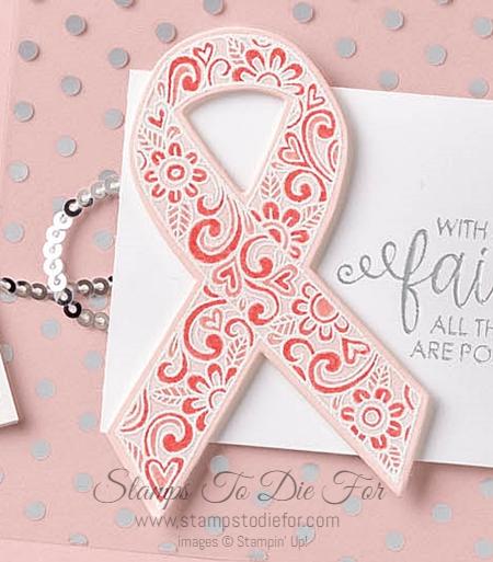 Ribbon of courage stamp set