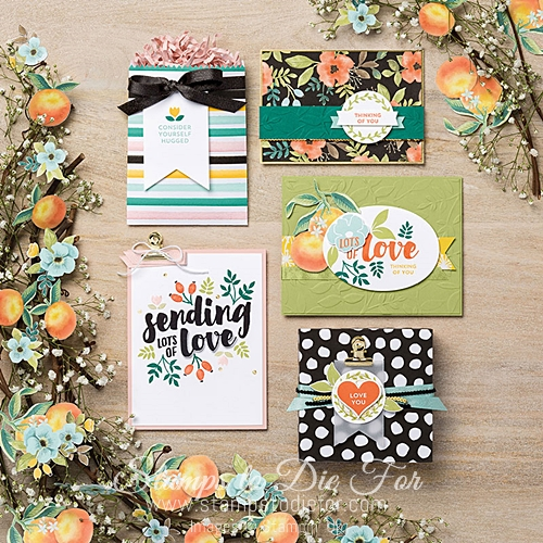 Whole Lot of Lovely Paper by Stampin' Up! www.stampstodiefor.com