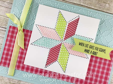 Sunday Sketches SS006 Quilted Christmas Stamp Set & Quilted Christmas Designer Series Paper by Stampin' Up! www.stampstodiefor.com 2