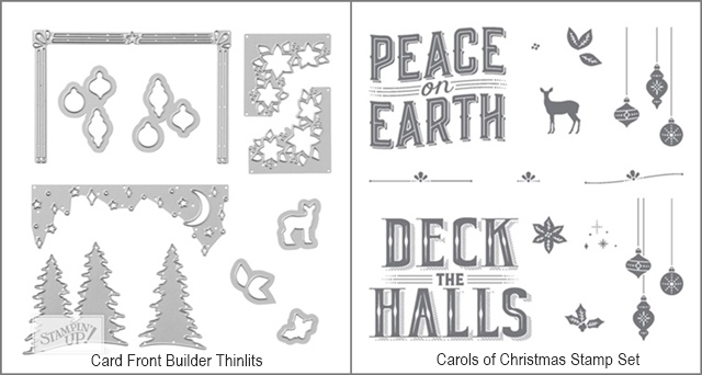 Card Front Builder Thinlits by Stampin' Up! bundle