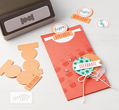 Tabs for Everything stamp set and Circle Tab Punch by Stampin' Up!