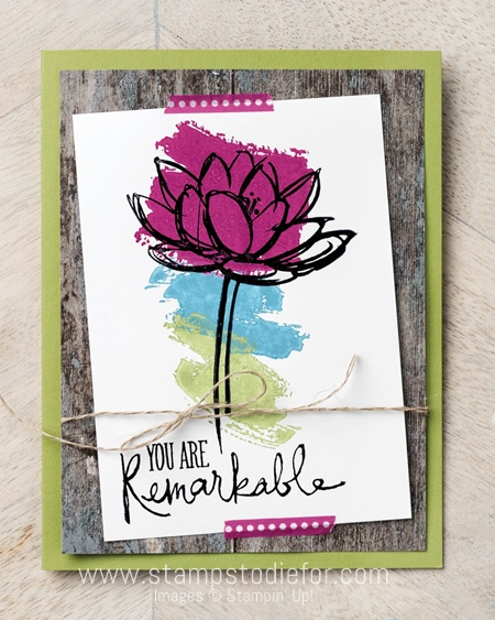 Remarkable You Stamp Set by Stampin' Up! www.stampstodiefor.com