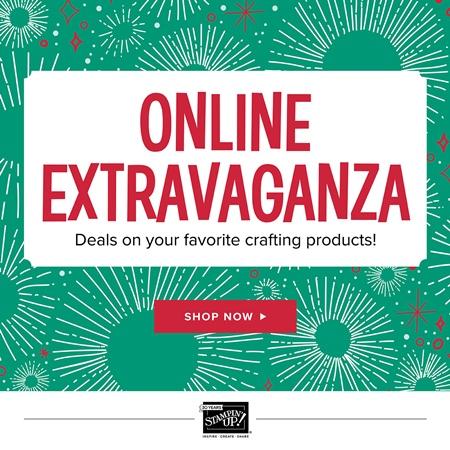 Online Stampin' Up! Extravaganza 2017 Black Friday - Thanksgiving Sale