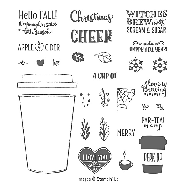 Merry Cafe Stamp Set by Stampin' Up! 3
