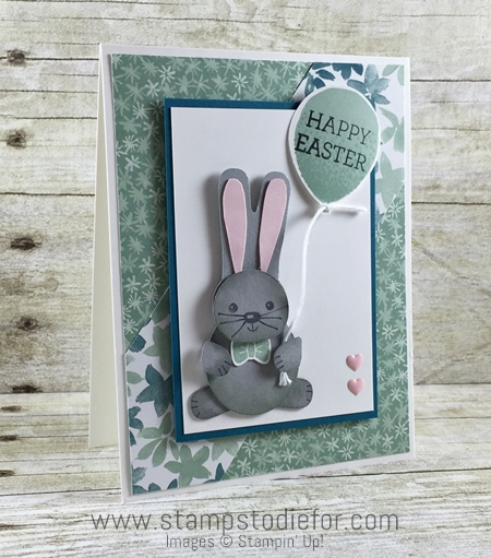 Cookie Cutter Builder Punch made into a bunny