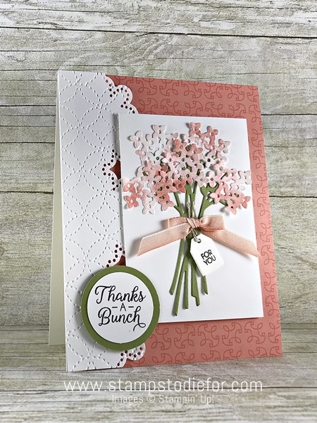 Beautiful Bouquet Stamp Set by Stampin' Up! www.stampstodiefor #cardsketch #sundaysketches #stampinup