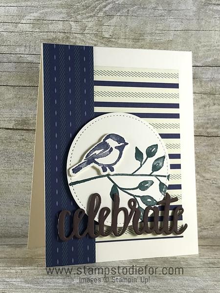 Petal Palette stamp set by Stampin' Up! www.stampstodiefor.com #stampinup #occasionscatalog #petalpalette bird2