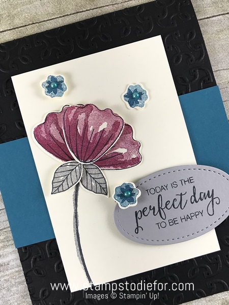 Bunch of Blossoms Stamp Set by Stampin' Up! www.stampstodiefor.com #stampinup #bunchofblossoms