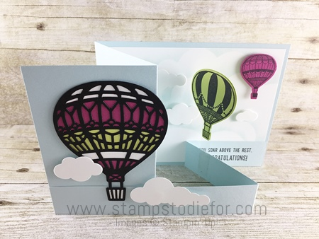 Top Ten Fun Fold Double Z  Lift Me Up Stamp Set by Stampin' Up! www.stampstodiefor.com 2