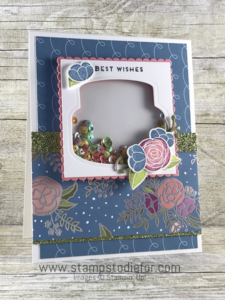 SS023 Handmade Birthday Card using the Cake Soiree stamp set by Stampin Up