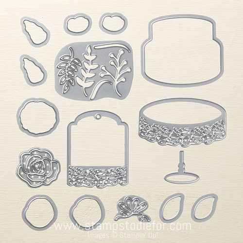 Sweet Cake Framelits by Stampin' Up!