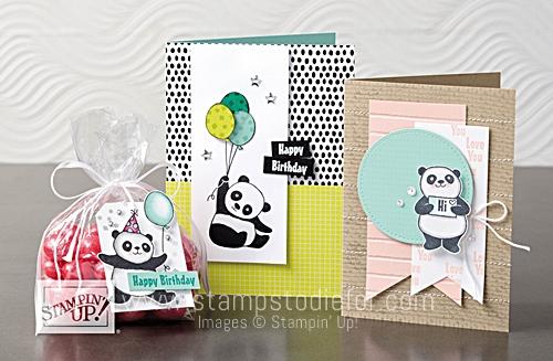 Party Panda stamp set Free Saleabrations