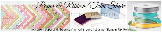 2018 Paper and Ribbon Share