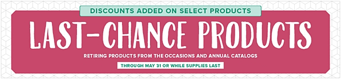 Stampin Up sale discount