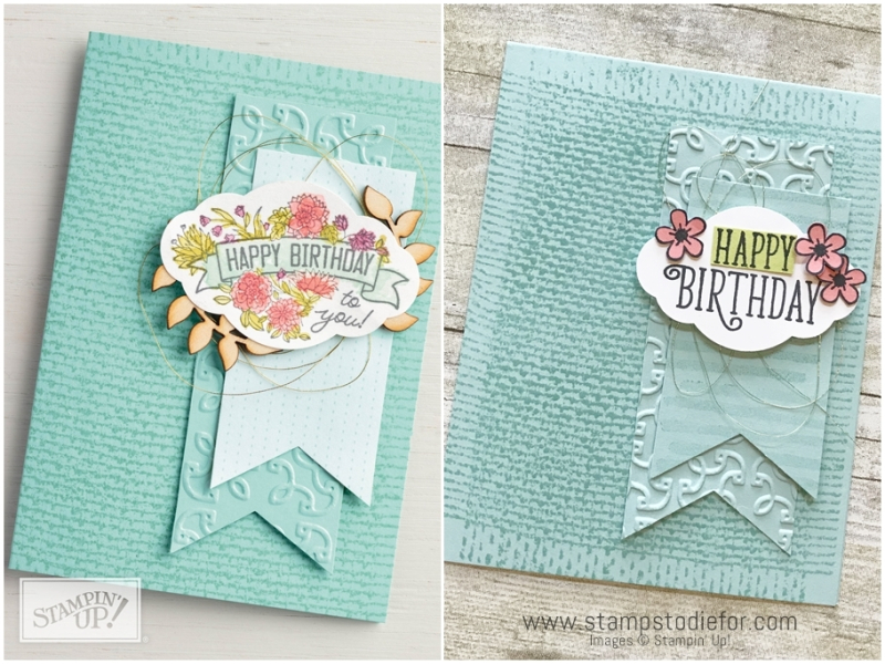 Just in CASE Happy Birthday Card using Happy Birthday Gorgeous Stamp Set by Stampin' Up!