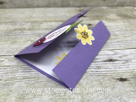 Bouquet Blooms Stamp Set and Gatefuld Blossoms Framelits Dies by Stampin' Up! www.stampstodiefor.com side