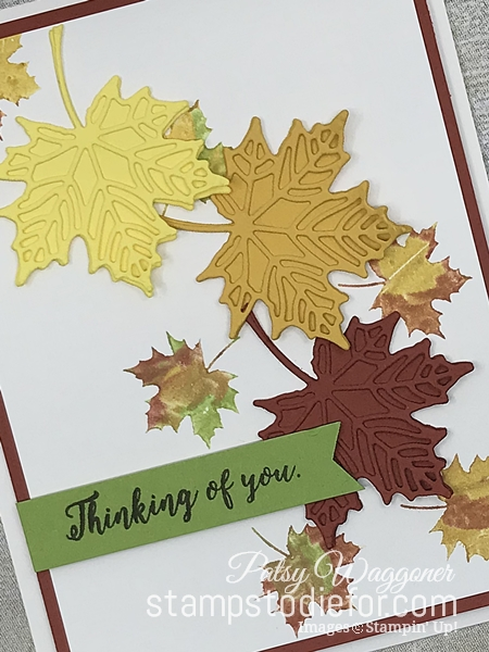 Color Without Borders - Colorful Seasons Stamp Set - Falling Leaves - Seasonal Layers Dies - Stampin' Up! www.stampstodiefor.com 3