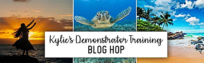 Blog Hop Kylies Demosntrator Training