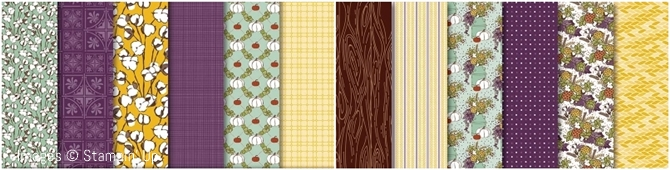 Country Lane Designer Series Paper by Stampin' Up!